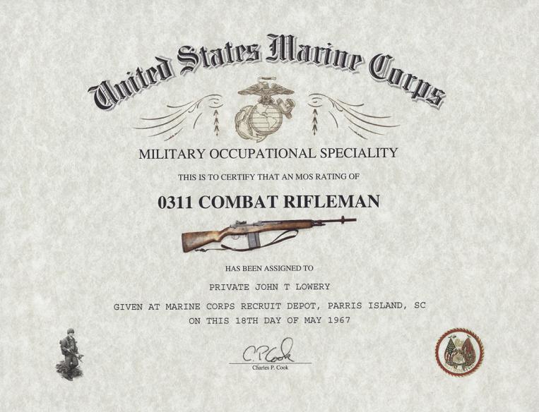 mos 0311 marine corps